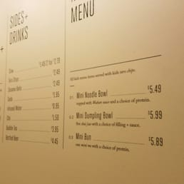 three fold menu
