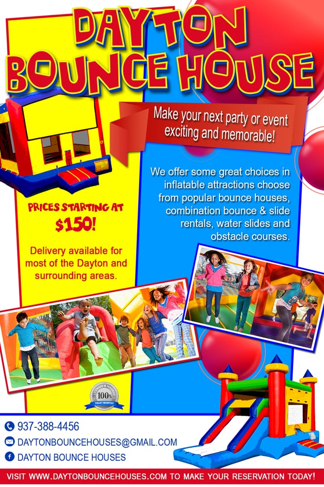 Dayton Bounce Houses - Request a Quote - Bounce House ...