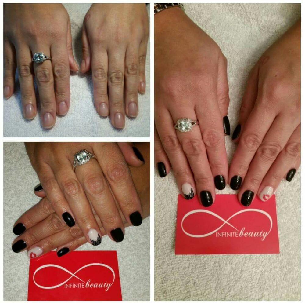 No chip Manicure and nail art by Lana - Yelp