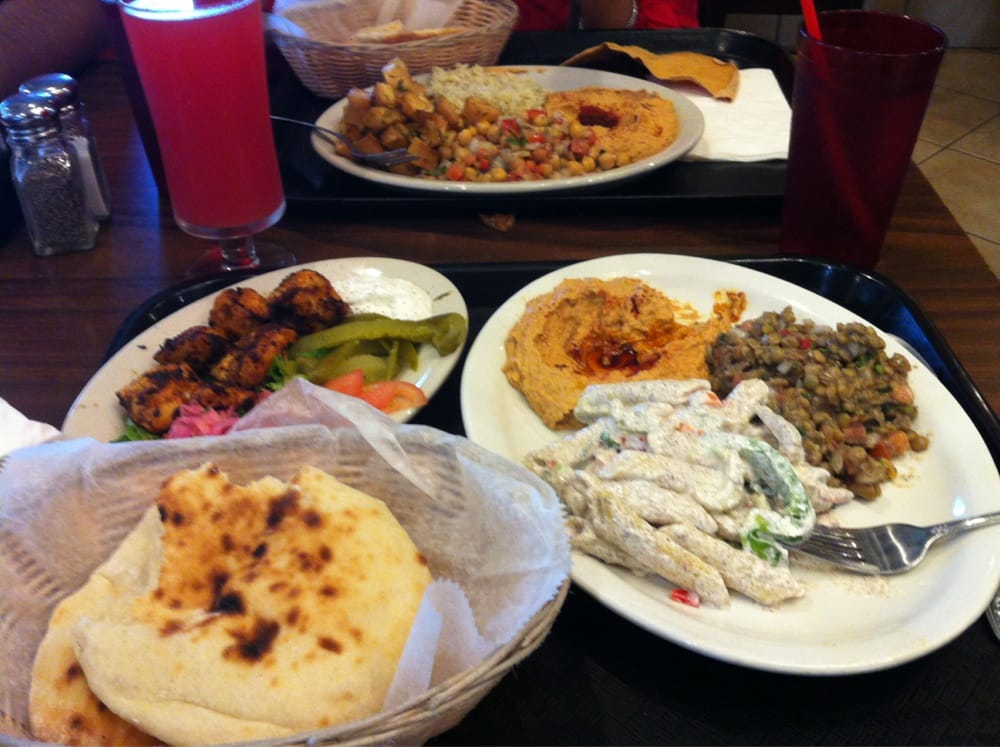 1 meat 3sides lotta food yelp for Aladdins cuisine