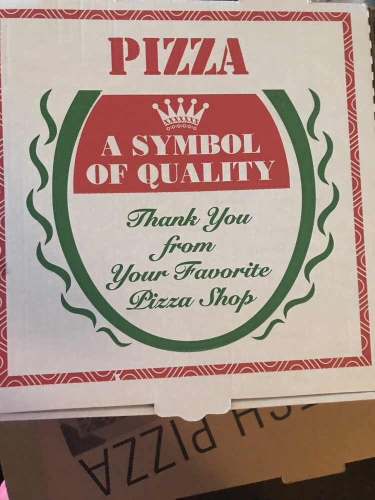 You Bet Its Not Symbol Of Quality For Personal Size Pizza Yelp