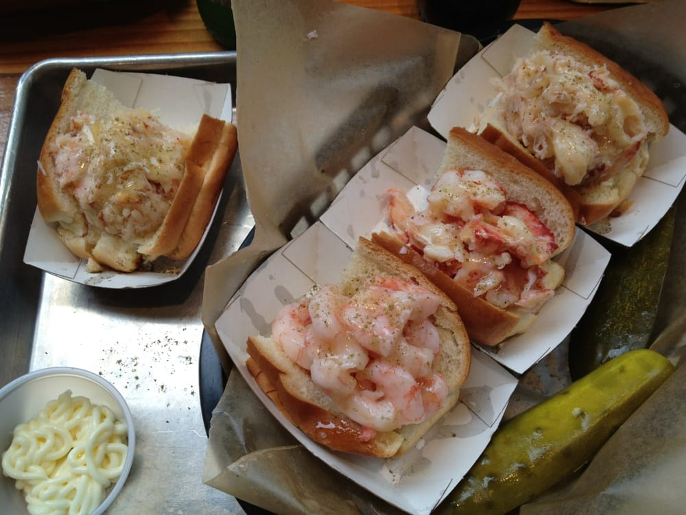 Crab roll, shrimp roll, lobster rolls, and crab roll... Again! - Yelp