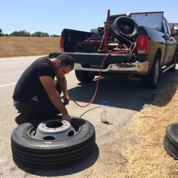 Roadside Tire Car Care Center, Photo Of Ace Roadside Assistance Mobile Tire Shop Pearland Tx United States, Roadside Tire Car Care Center