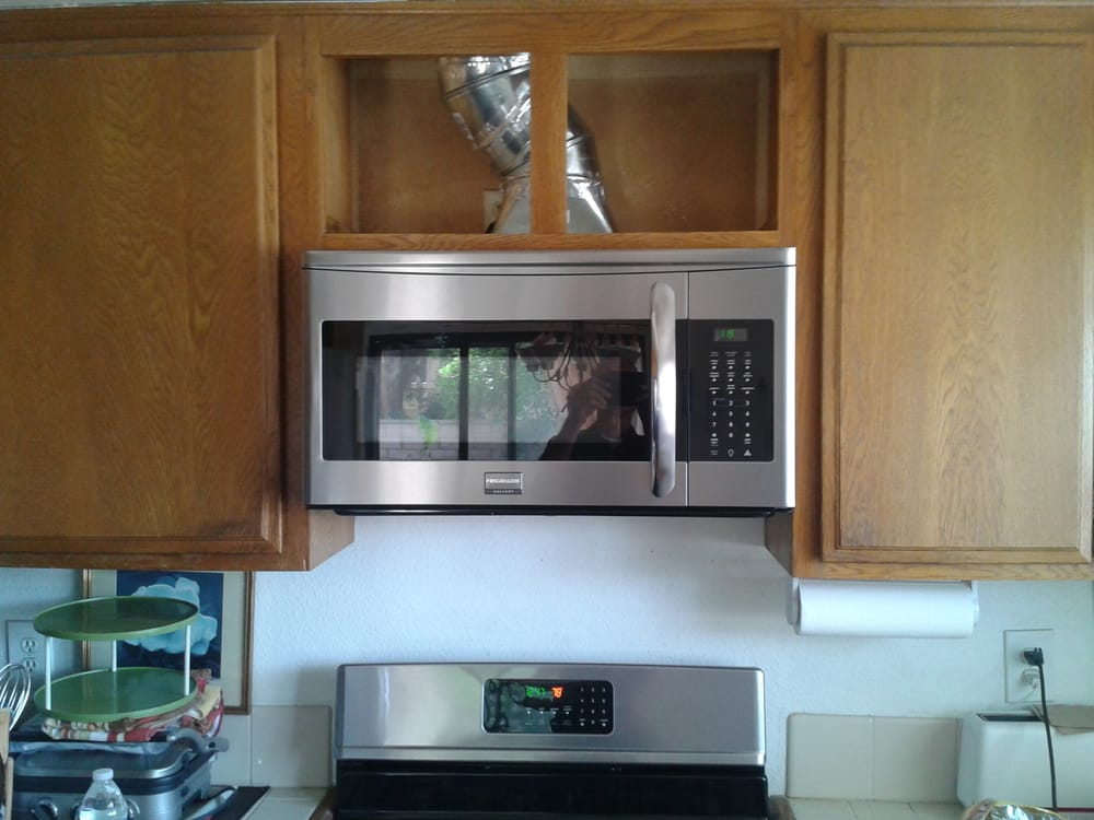 Raised Upper Cabinet 7 Inches To Accommodate Over The