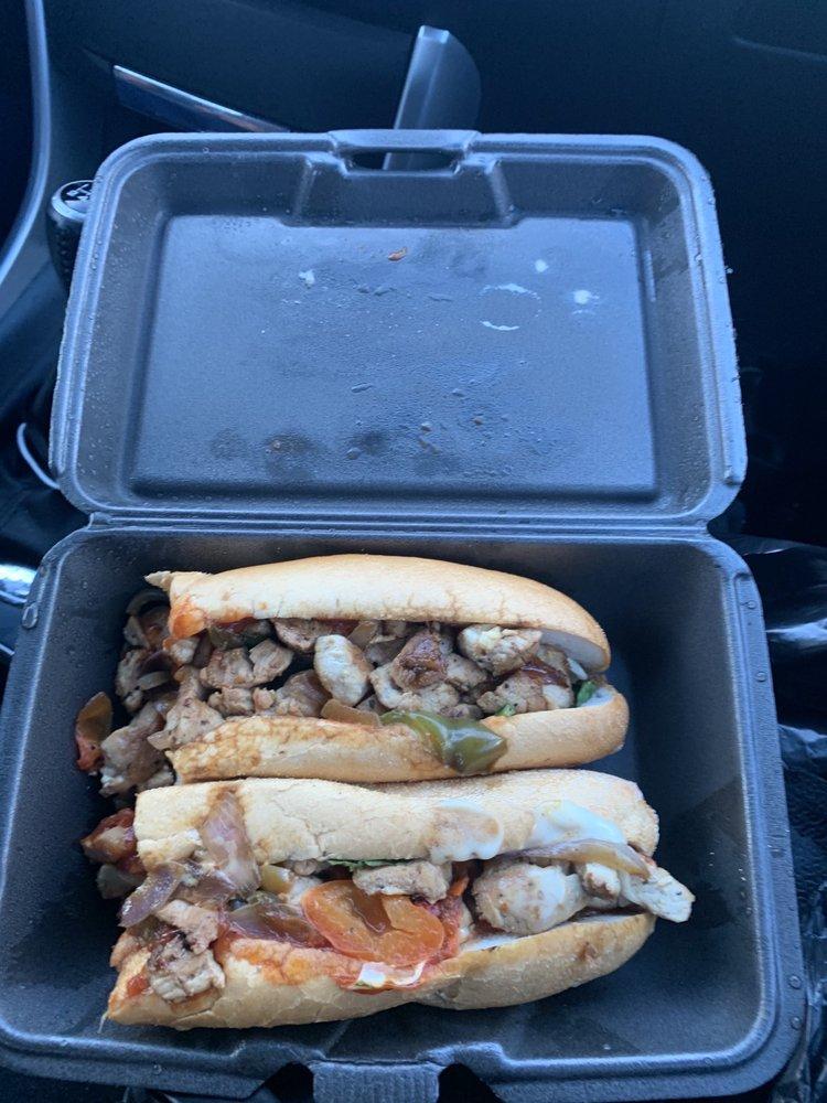 Food from Burger Bar