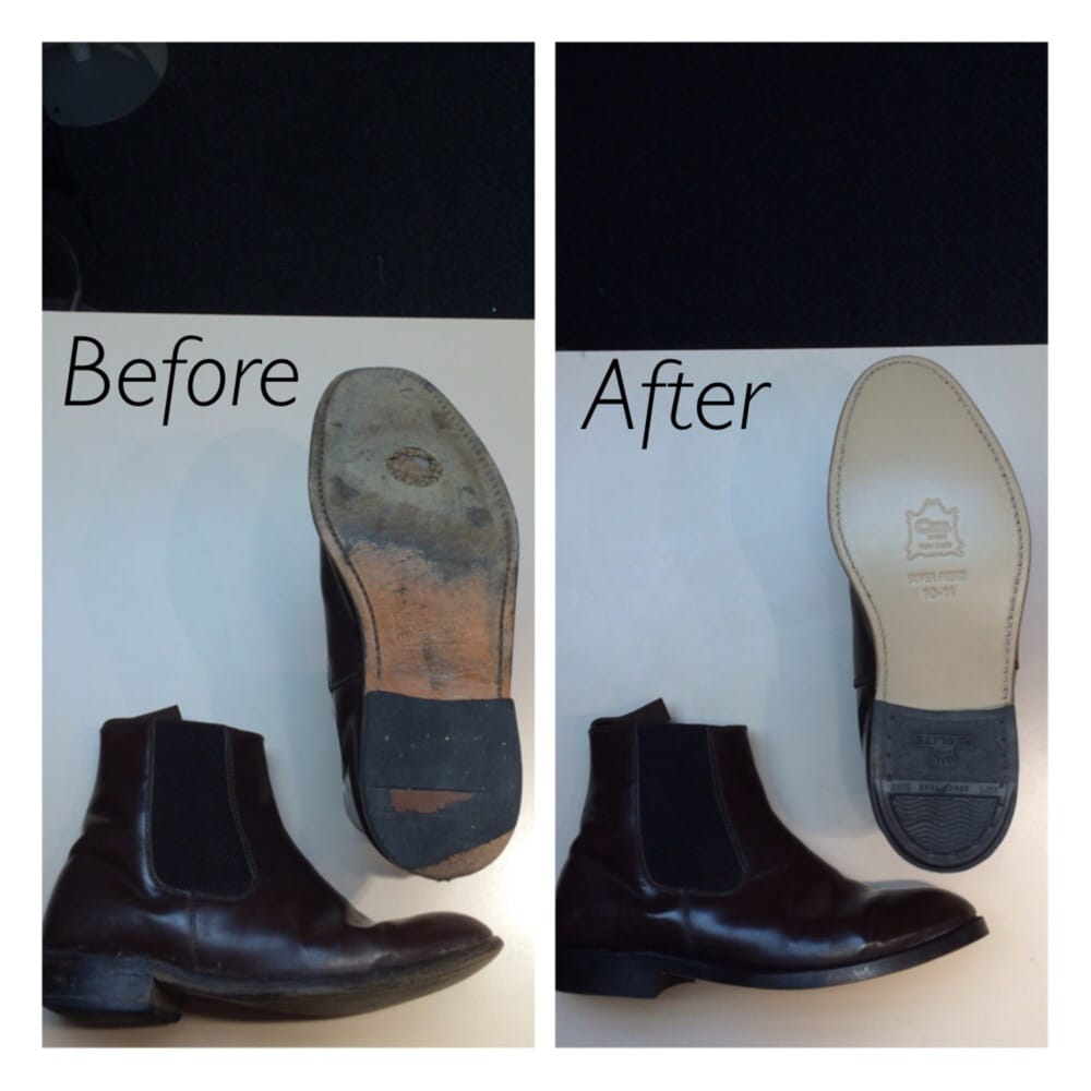 Mens Chelsea Boot With A New Leather Sole Heel