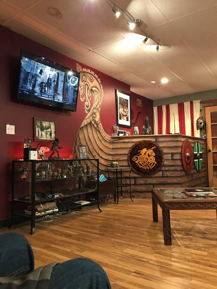 The Mighty Horseman Tattoo Co: 12 W Main St, Elmsford, NY