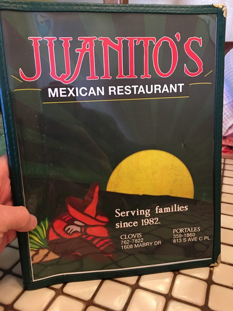 Food from Juanito's Mexican Restaurant