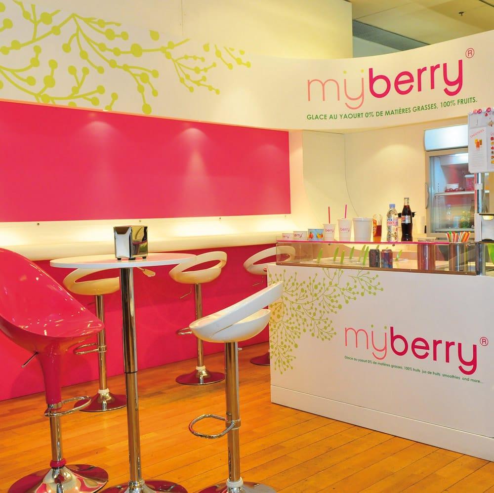 Myberry glaces yaourts glac s printemps parly 2 le chesnay yvelines num ro de - Numero de telephone printemps haussmann ...