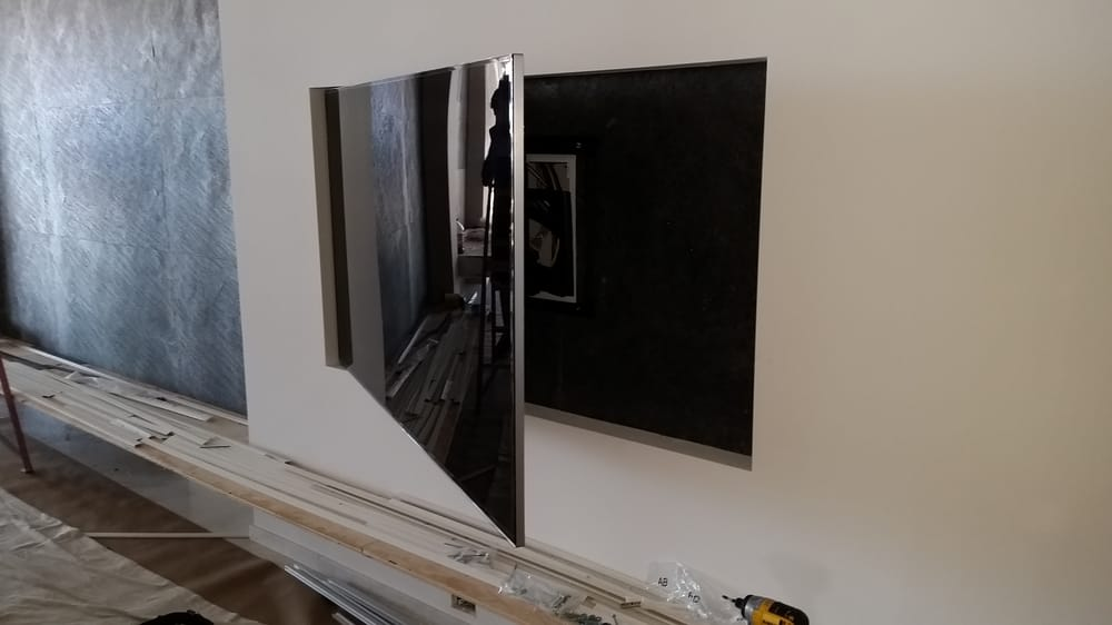 Flush Mounted Recessed Tv On An Articulating Arm Yelp