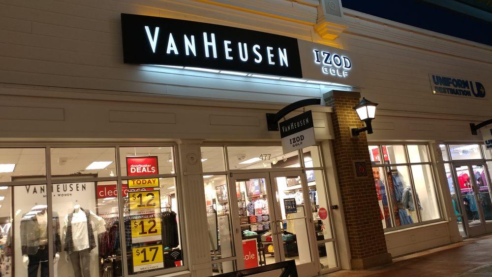 Van Heusen: 80 Premium Outlets Blvd, Merrimack, NH