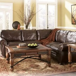 Photo Of Town Square Furniture   Campbell, CA, United States. Our Leather  Sectional