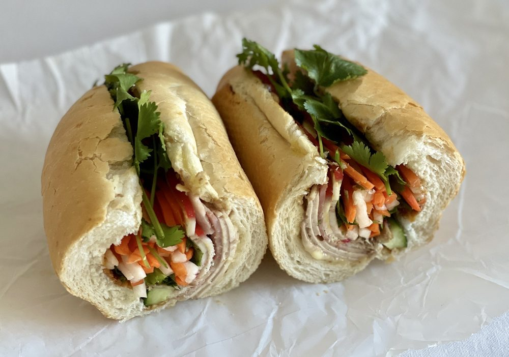Food from Banh Mi Huong Que