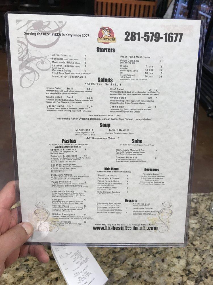 Mazzei's Gourmet Pizza