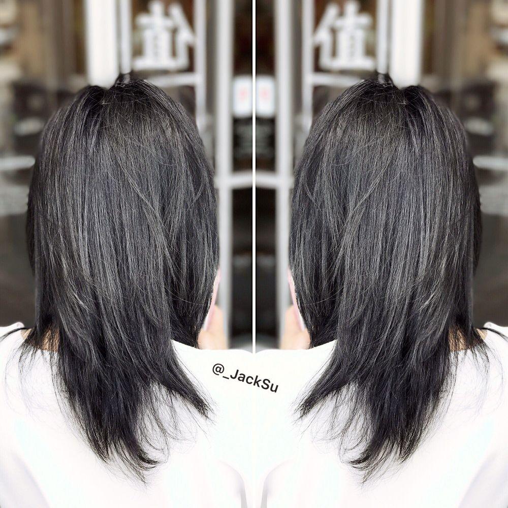 New Charcoal Grey Hair Color By Jack Jacksu Wechatjksu286