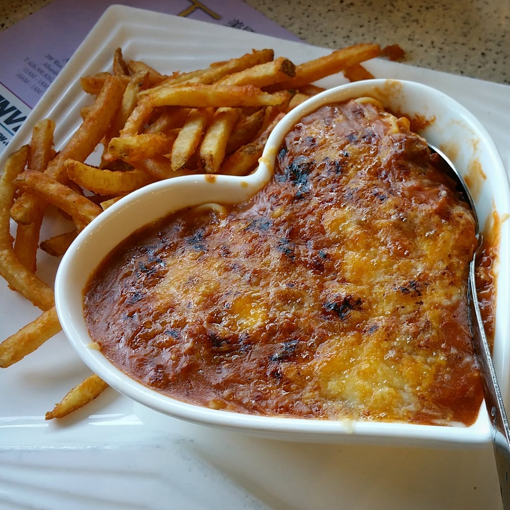 Baked Bolognese Pasta, from children\'s menu. (焗肉醬意粉) - Yelp