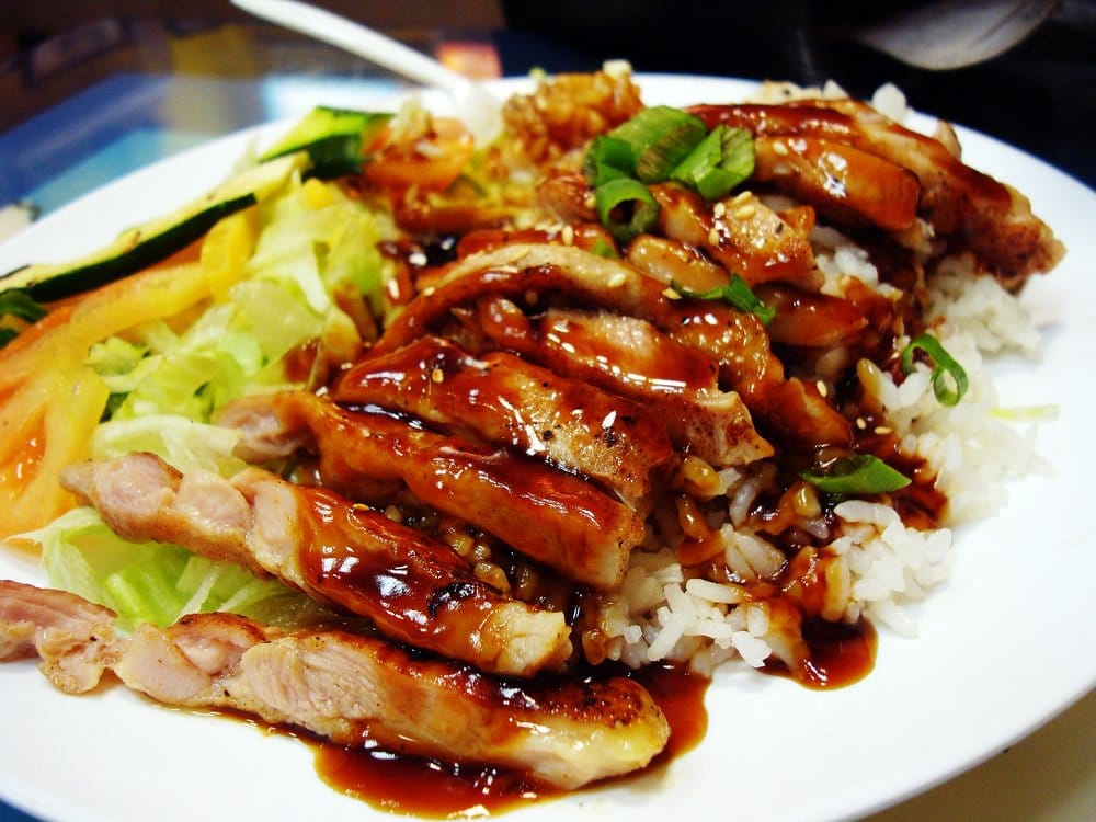 chicken teriyaki plate   yelp