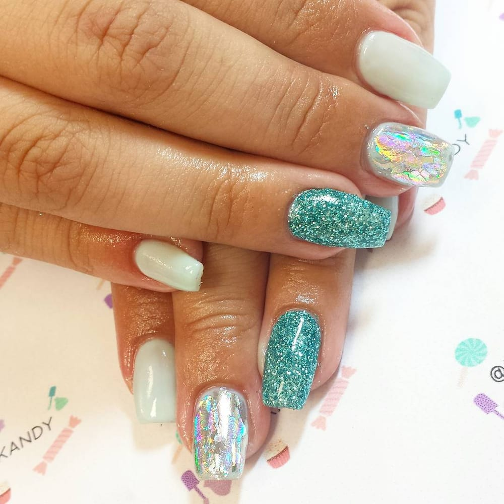 Gel extensions with freestyle nail art. - Yelp