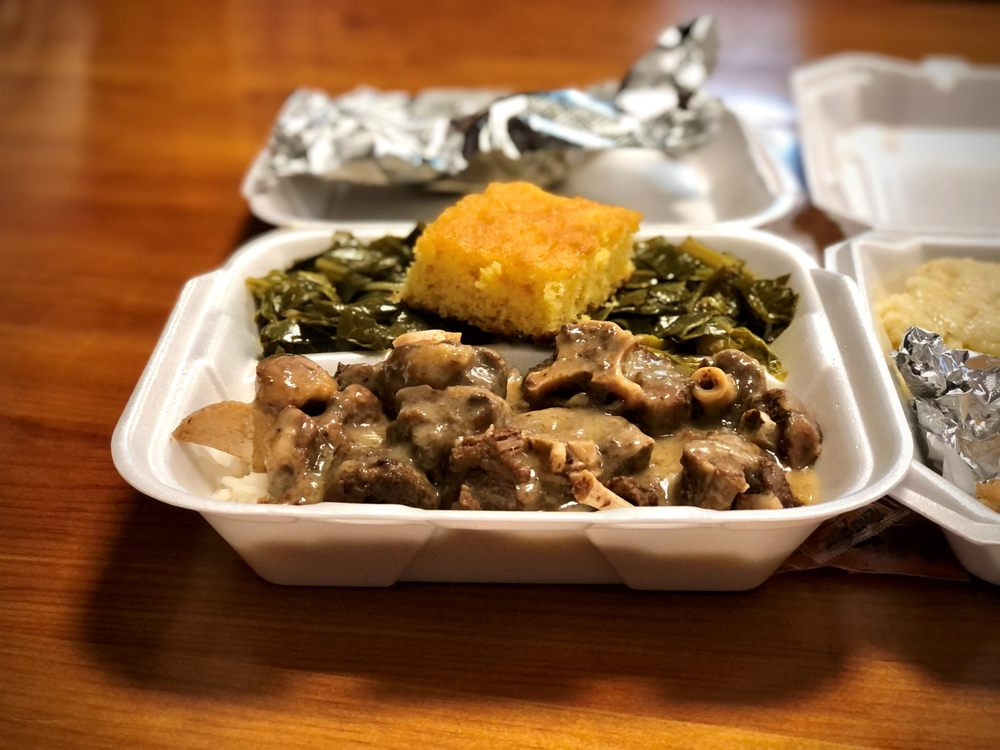 Food from Shut Em Down Authentic Southern Restaurant