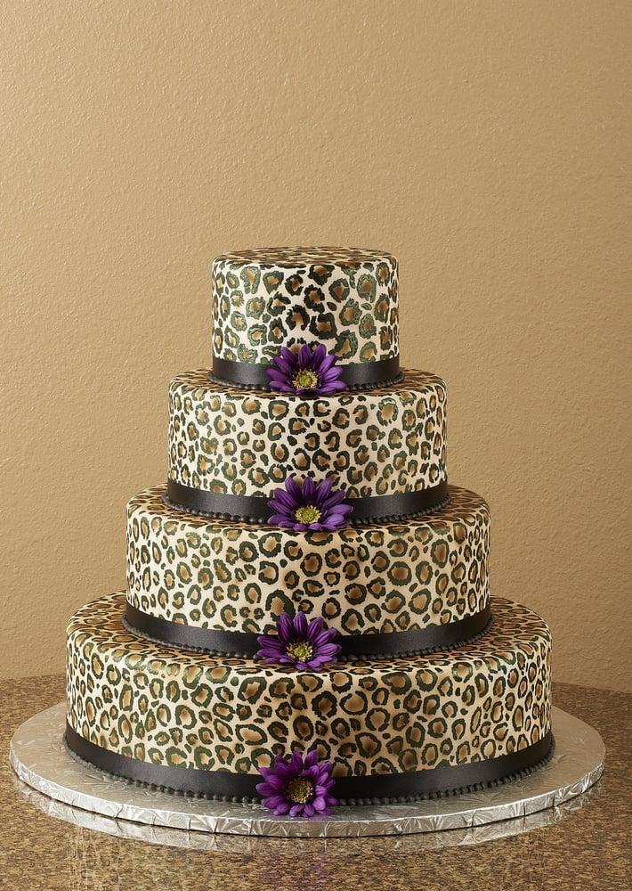 Leopard Design Birthday Cake : Leopard Print Cake - Yelp