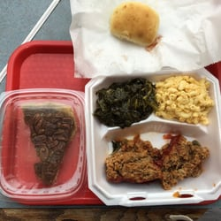 Photo Of Denoris Soulfood Greensboro Nc United States Meatloaf Platter With A
