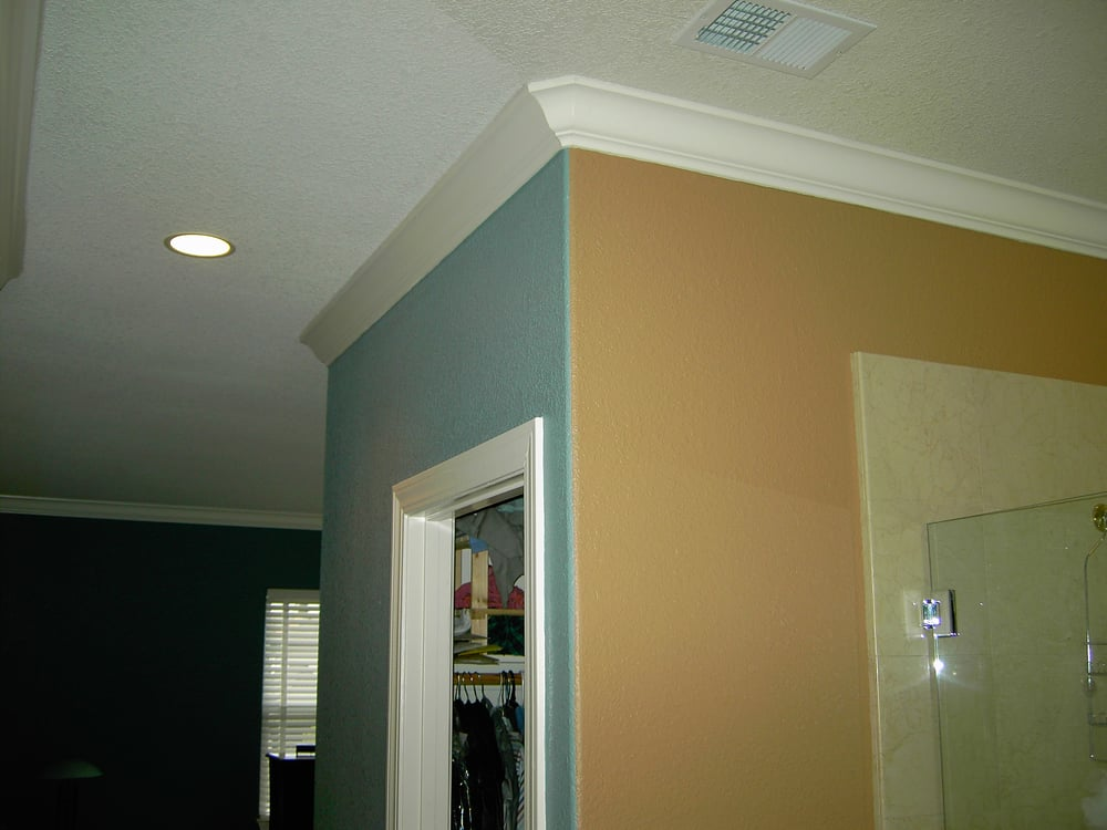 Painting Rounded Ceilings
