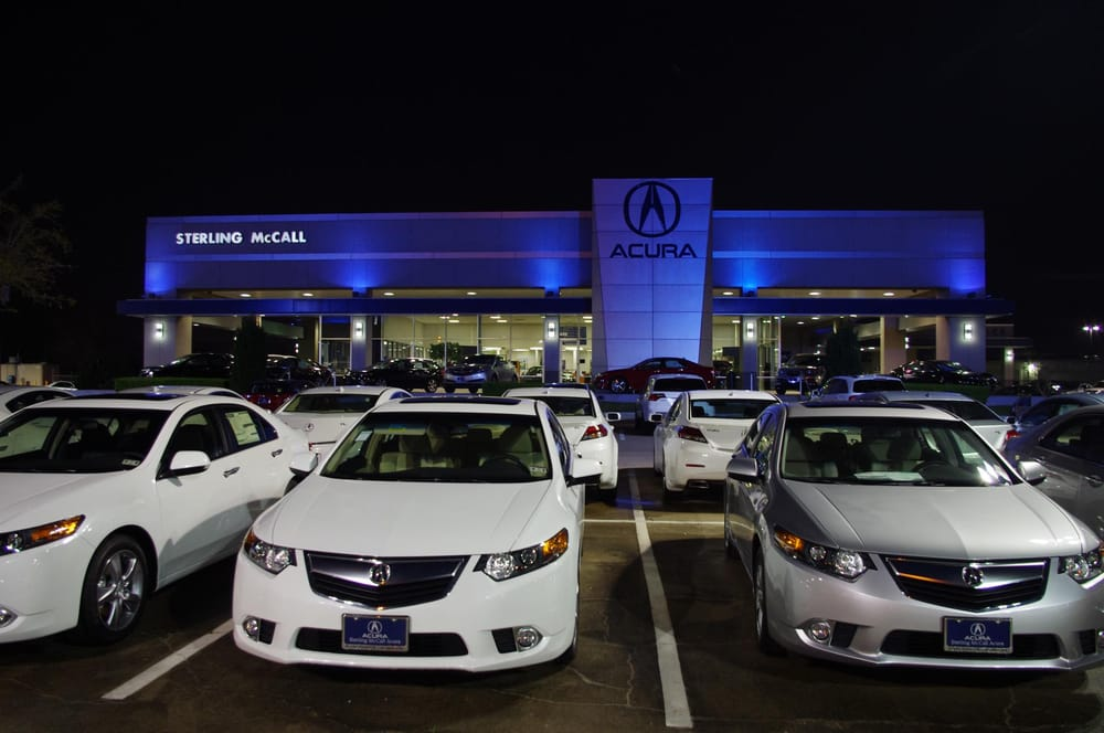 Sterling Mccall Acura >> Sterling Mccall Acura Houston New Used Acura Dealership