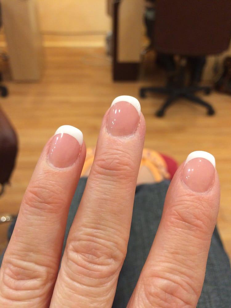 Pink & white mani awesome!!! :-) - Yelp