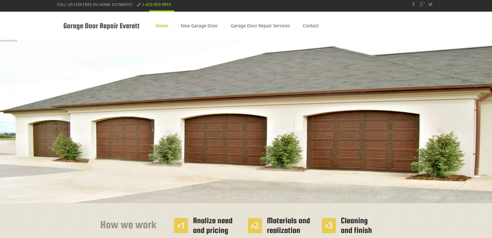 Garage Door Repair Everett Garage Door Services 2722 Colby Ave