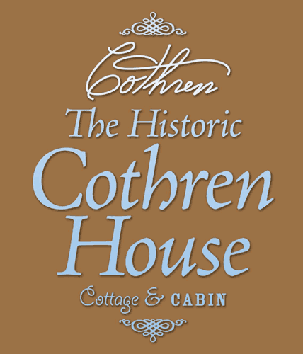 The Historic Cothren House Cottage & Cabin: 320 Tower St, Mineral Point, WI