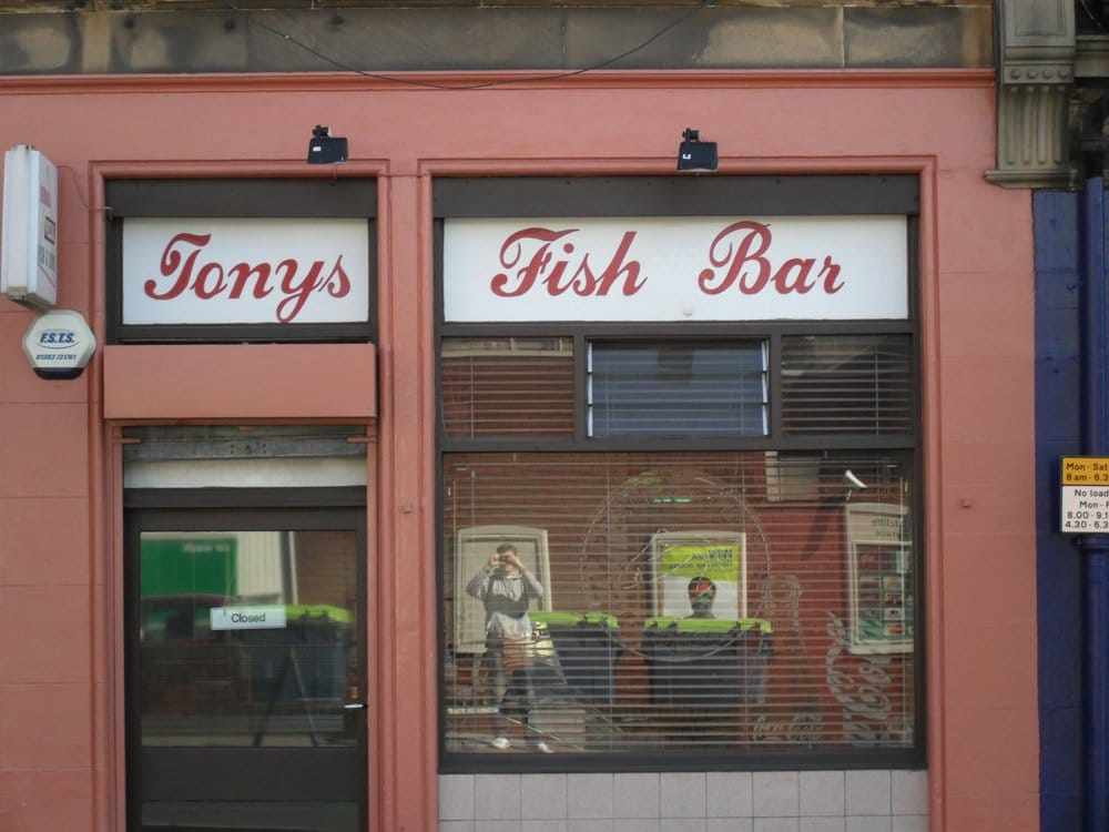 Tony s fish bar fish chips 7 ratcliffe terrace for Terrace fish and chips