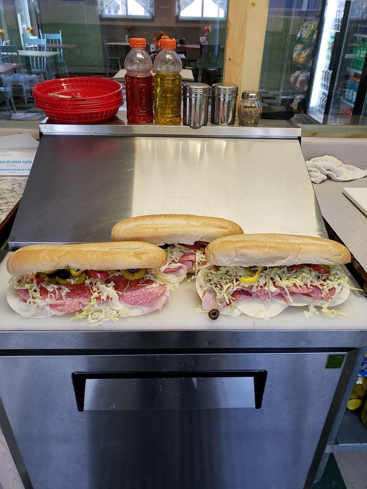 Belly Busters Sub Shop: 1800 Rte 16, West Ossipee, NH