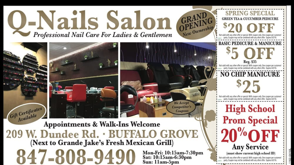 Photo of Q-Nails Salon - Buffalo Grove, IL, United States