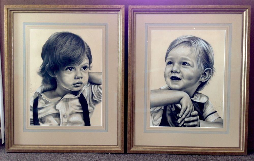 Clay Judice Portraits with custom french matting - Yelp