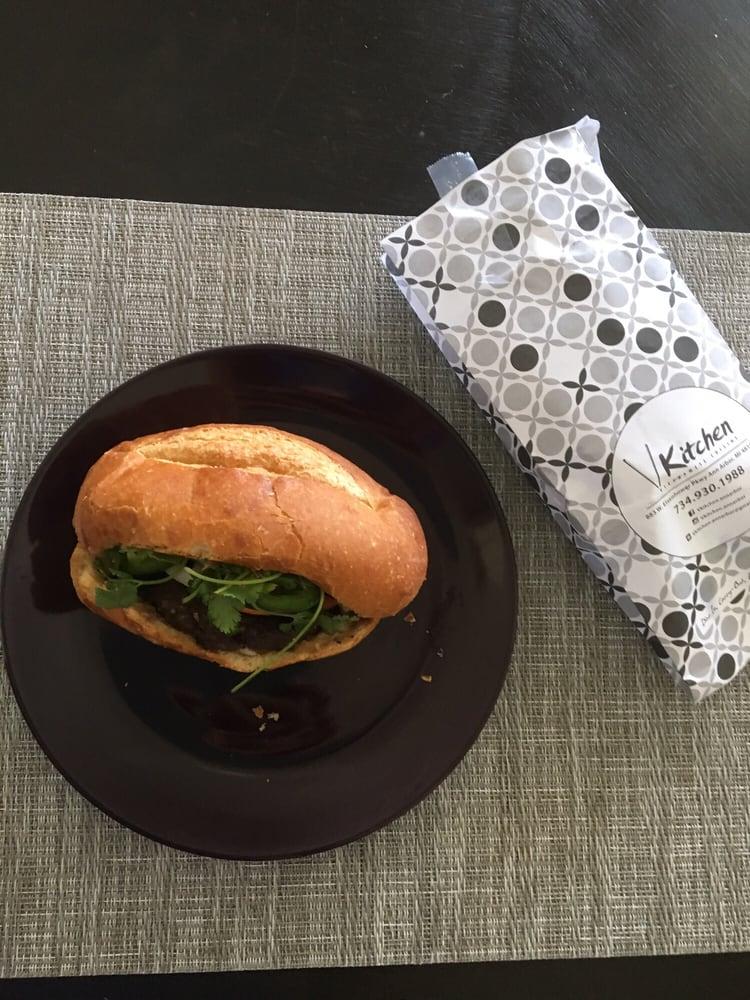 Lemongrass satay bahn mi yelp for V kitchen ann arbor