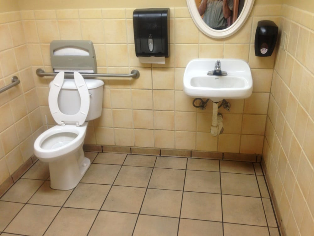 Very clean restroom yelp for Bathroom cleaning services near me