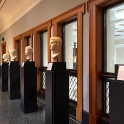 'Photo of The Getty Villa - Pacific Palisades, CA, United States. some head busts' from the web at 'https://s3-media4.fl.yelpcdn.com/bphoto/qlK0K60rKayLrQri9YVIHQ/ls.jpg'