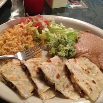 Photo Of Zamoras Restaurant Mcallen Tx United States The Beef Quesadillas