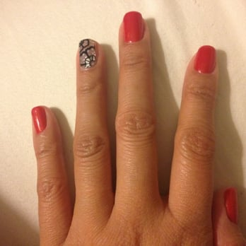 Photo Of Pink Plus Nails Lynbrook Ny United States Love The Stickers