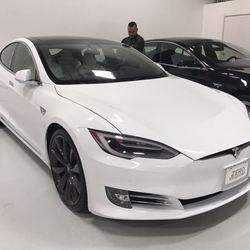 Tesla dealership orange county