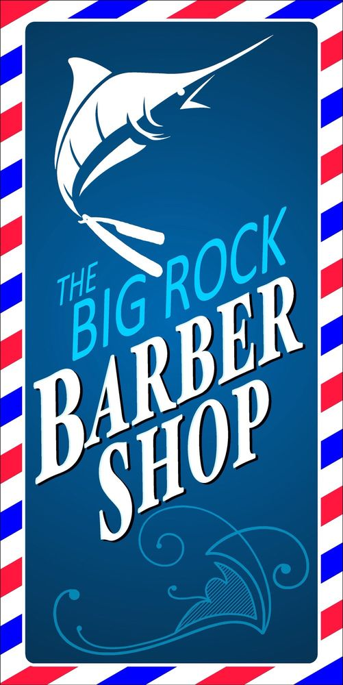 The Big Rock Barber Shop: 4101 Arendell St, Morehead City, NC