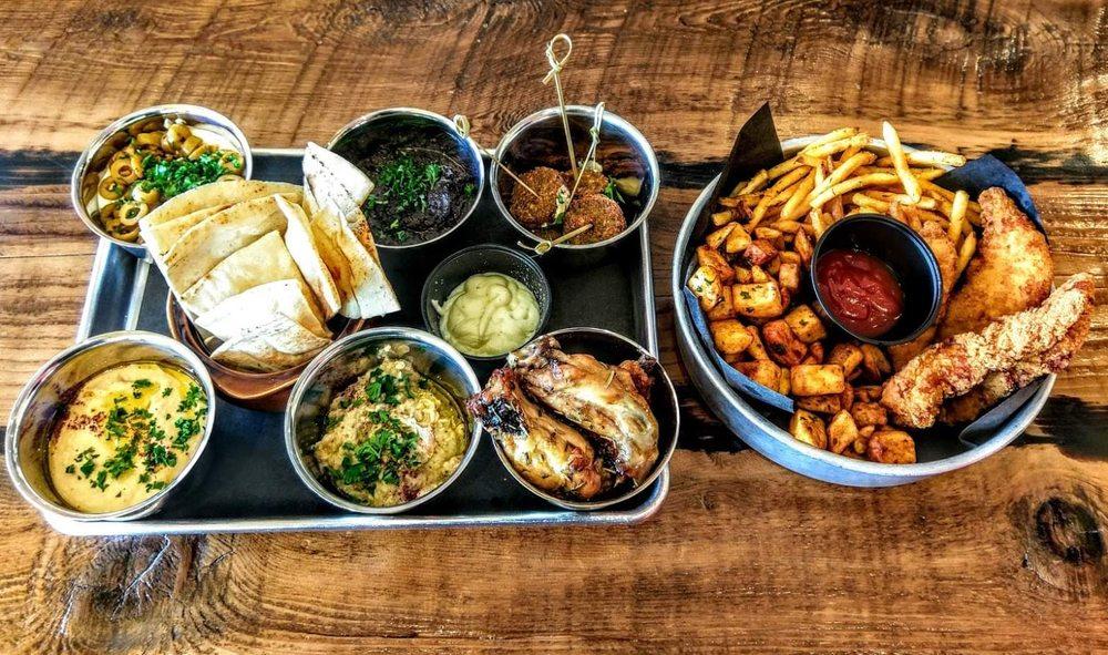 Sami's Mediterranean Street Food: 300 Main St, Asbury Park, NJ