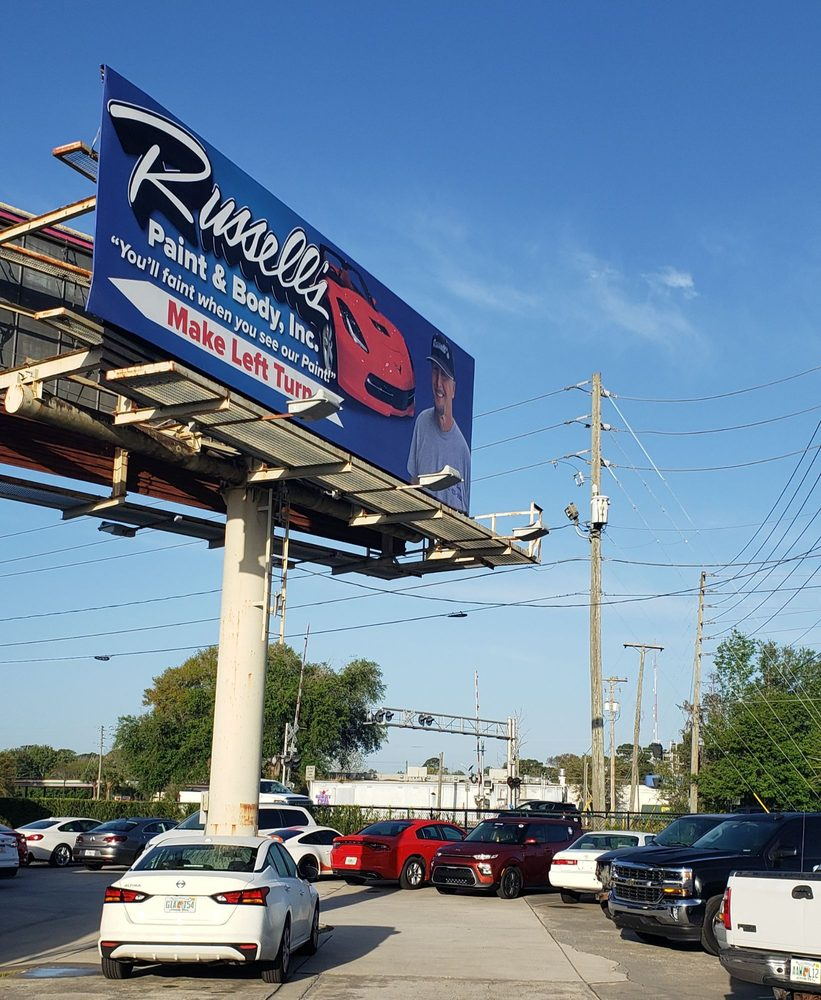 Russell's Paint & Body: 1790 Timocuan Way, Longwood, FL