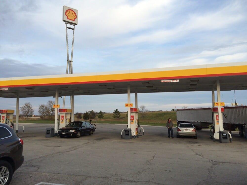 Shell: 607 W Main St Lutz Rd, Gardner, IL