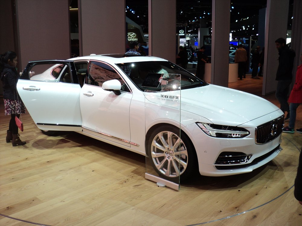 The all new s90 is here and in our showroom this vehicle for Kempthorn motors used cars