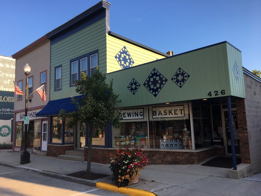 The Sewing Basket: 426 E Mill St, Plymouth, WI