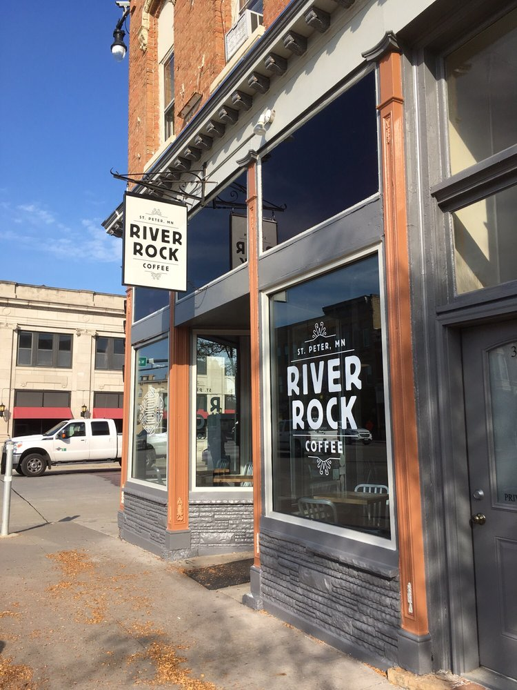 River Rock Coffee: 301 S Minnesota Ave, Saint Peter, MN