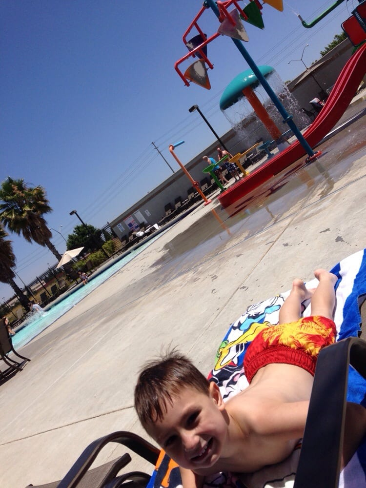 Tanning By The Kiddie Pool Area Yelp