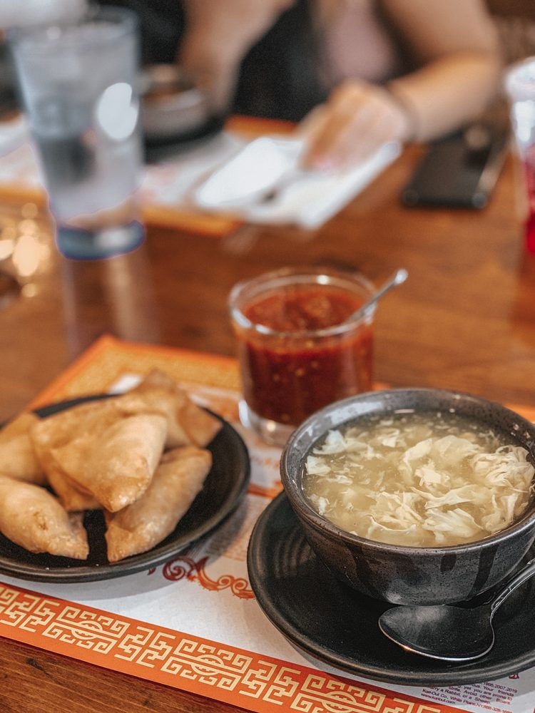 Food from Phan-Shin Chinese & Thai Restaurant