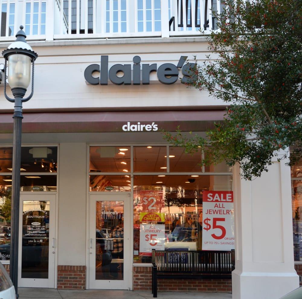 Claire's Boutique: 16926 Birkdale Cmns Pkwy, Huntersville, NC